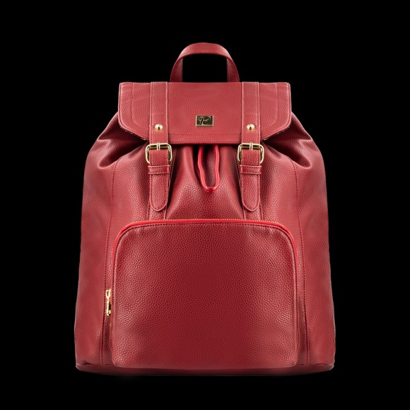 packs project Handbags - Red backpack like new